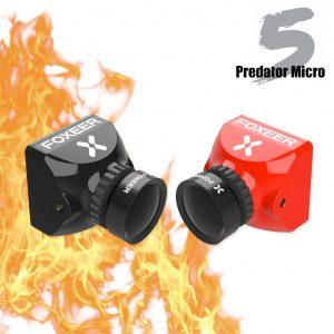 foxeer micro predator 5 racing fpv camera m8 lens 4ms latency super wdr australia product mantisfpv 1