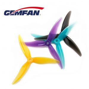 gemfan hurricane 51477 durable 3 blade colours product mantisfpv 1