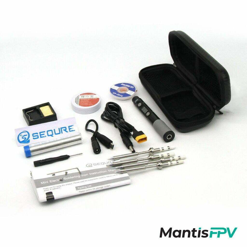 sequre sq d60b soldering kit plus with tool bag australia mantisfpv