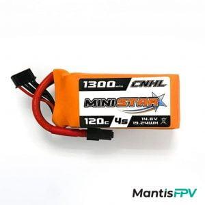 Chinahobbyline Ministar 1300mAh 120C 4S Lipo Battery