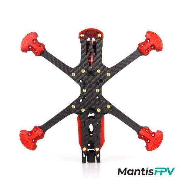 hglrc sector 5 6 7 v3 hd freestyle 3k carbon fiber frame kit bottom mantisfpv