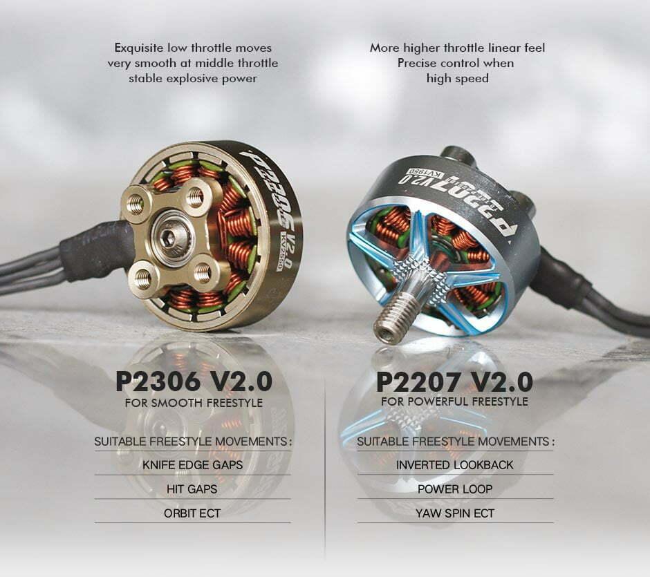 t motor p2306 v2 0 motor 1950kv description mantisfpv product