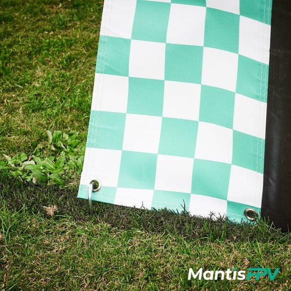 multi gp style race gate pvc secure mantisfpv