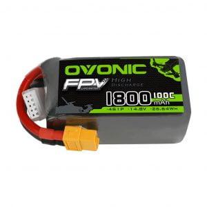 ovonic 100c 4s 1800mah 14 8v lipo battery australia mantisfpv 1