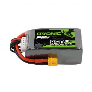 ovonic 14 8v 80c 850mah 4s australia lipo battery size mantisfpv 1