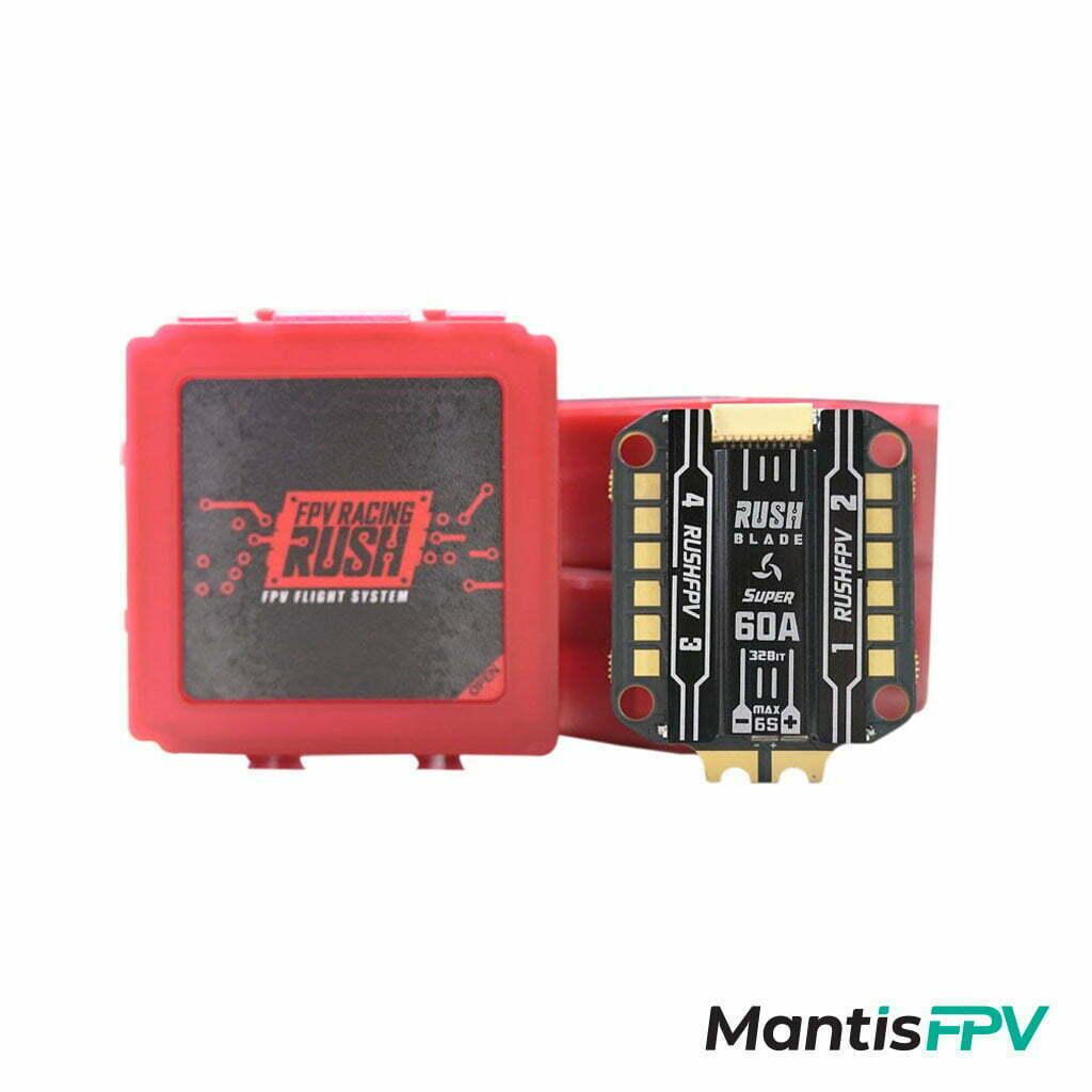 rushfpv rush blade f722 stack analog 60a super edition esc package mantisfpv