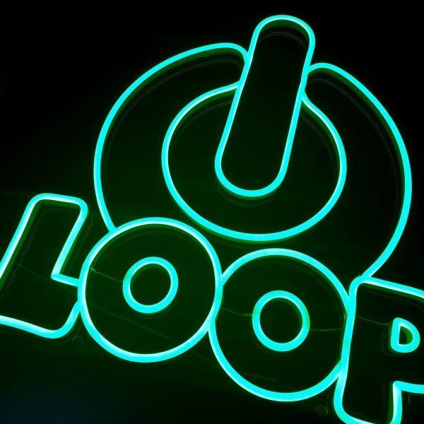MantisFPV custom led neon sign australia product power loop