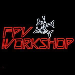 Mantisfpv custom led neon sign FPV drone workshop australia