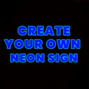 custom design led neon sign