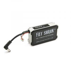 fatshark 18650 li ion cell headset battery case product mantisfpv