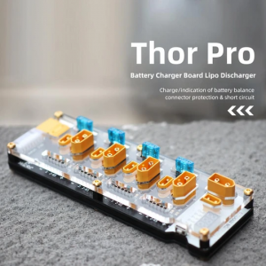 hglrc thor battery charger board with lipo discharger pro mantisfpv xt60