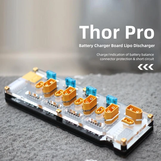 hglrc thor battery charger board with lipo discharger pro mantisfpv