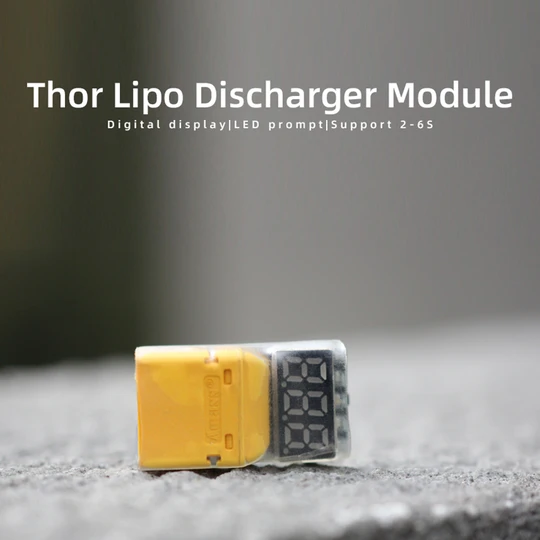 hglrc thor lipo battery discharger mantisfpv 5s