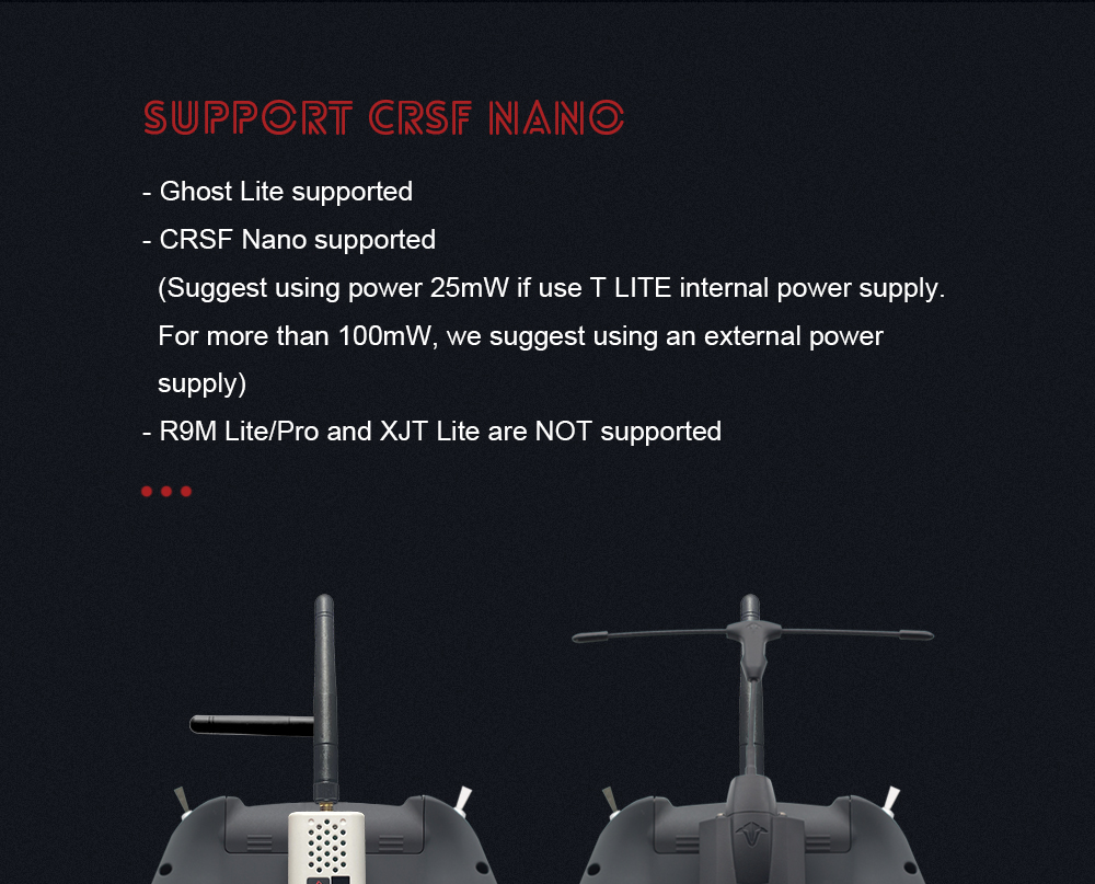 jumper t lite jp4in1 multi protocol module radio controller product crossfire mantisfpv