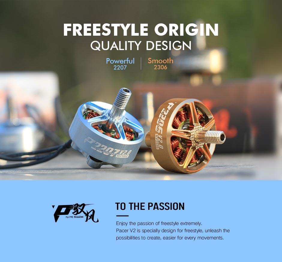 t motor pacer v2 p2207 powerful freestyle 1750 1950kv motor mantisfpv description 1