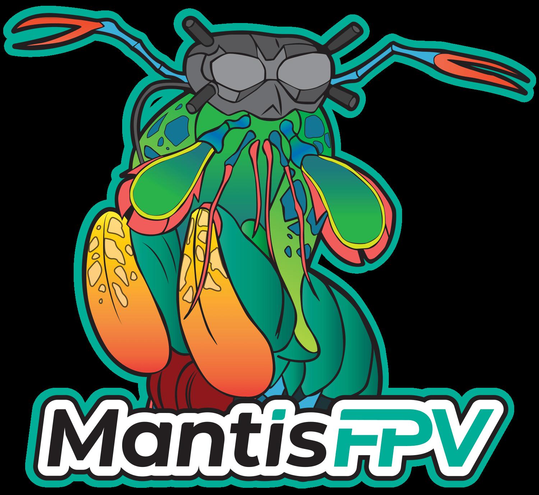 MantisFPV logo sticker mascot 1500w 2021