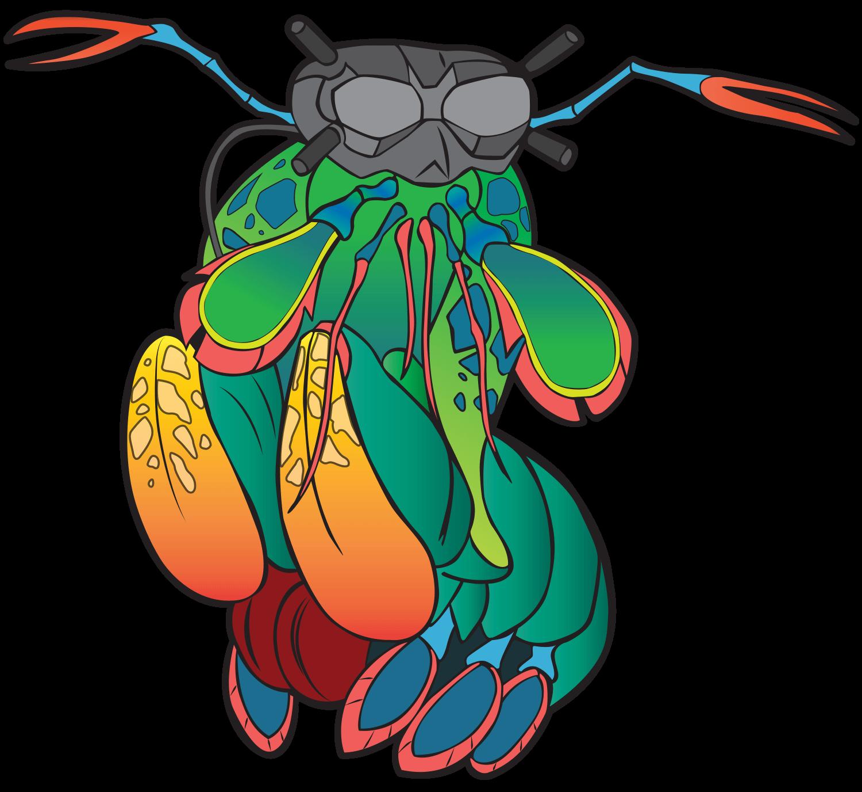 MantisFPV logo sticker mascot only 1500w 2021