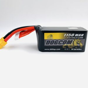 dogcom 150c 6s 1150mah 22 2v lipo battery mantisfpv australia