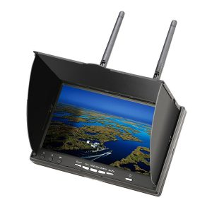 lcd5802d 5802 5 8g 40ch 7 inch fpv monitor with dvr build in battery australia mantisfpv