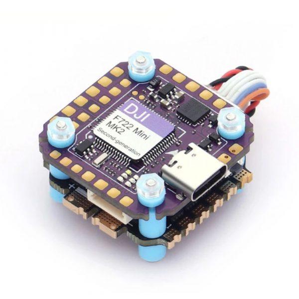 diatone mamba dji f722 mini mk2 40a 2 6s 32bit flight controller stack mantisfpv